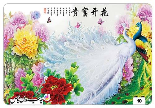 چاپ پوستر سه بعدی گل